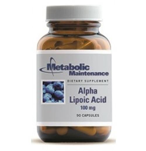Alpha Lipoic Acid 100 mg 90 Capsules (00218)