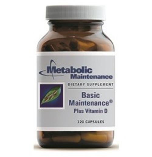 Basic Maintenance with 2000 IU Vitamin D 120 Capsules (00521)
