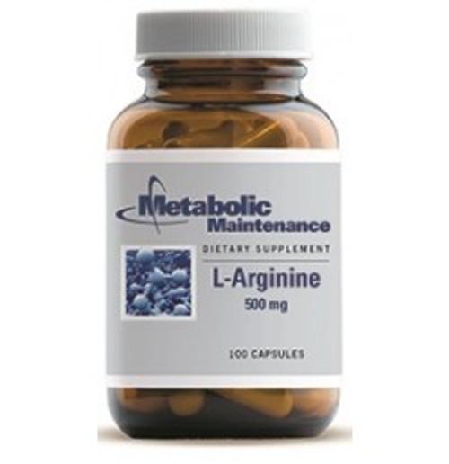 L-Arginine 500 mg 100 Capsules (00122)