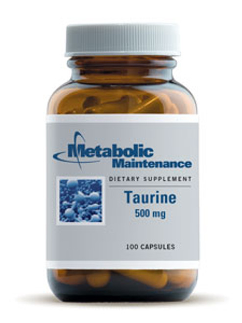 Taurine 500 mg 100 caps (158)
