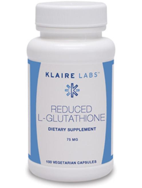 Reduced L-Glutathione 75 mg 100 vegcaps (V800-10)