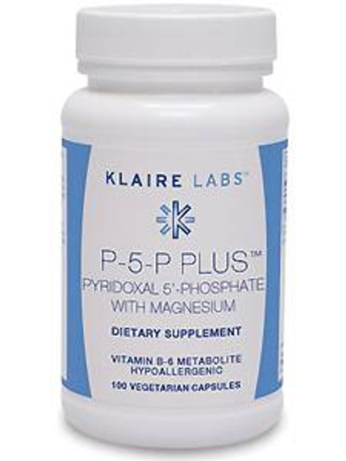 P-5-P Plus with Magnesium 100 vegcap (V911-10)