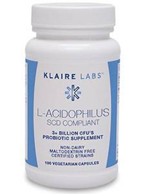 L-Acidophilus SCD Compliant 100 vegcap (K-LAC)
