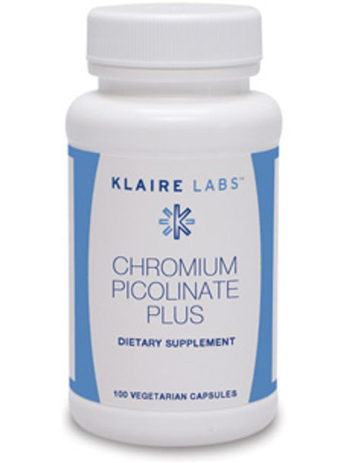 Chromium Picolinate Plus 100 vegcap (V122-10)
