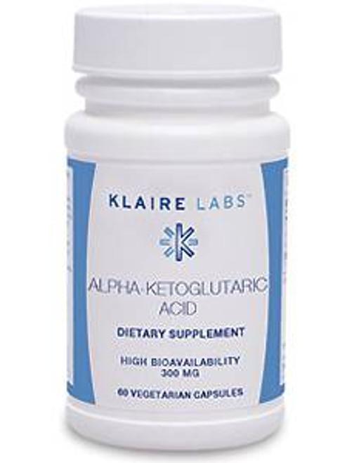 Alpha-Ketoglutaric Acid 300 mg 60 vegcap (V135-06)