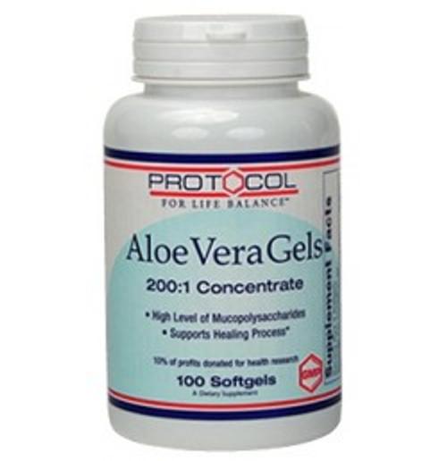 Aloe Vera Gels 100 Softgels (P3036)