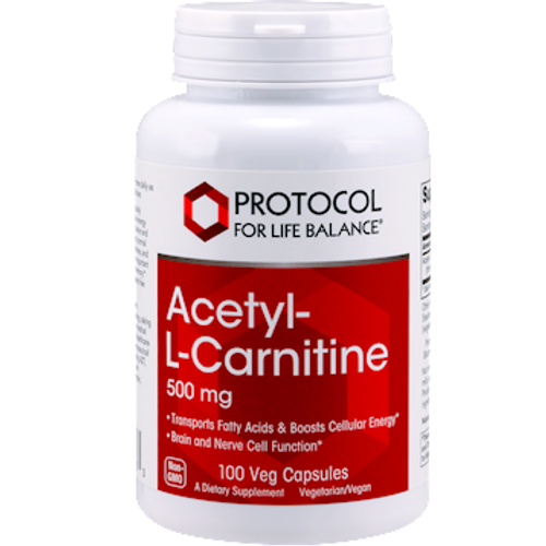 Acetyl-L-Carnitine 500 mg 100 Capsules (P0076)