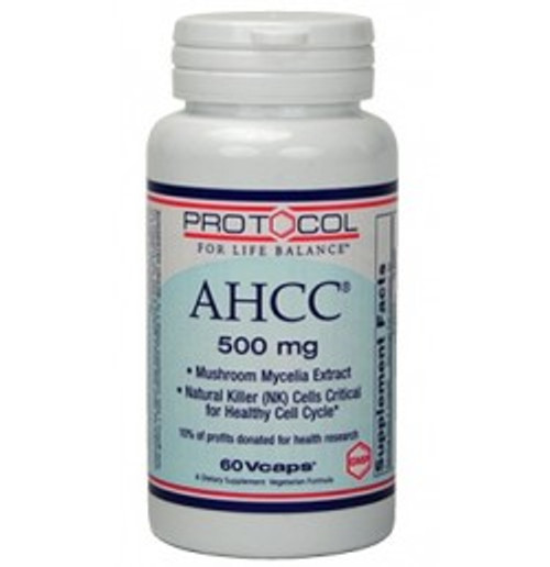 AHCC 500 mg 60 Capsules (P3032)