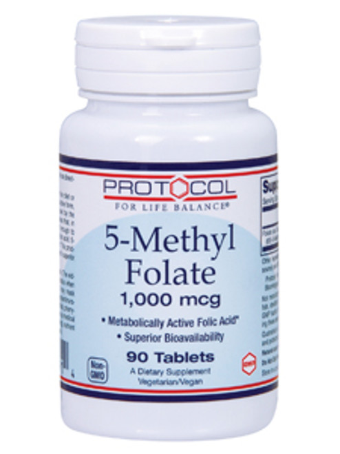 5-Methyl Folate 1000 mcg 90 tabs (P0491)
