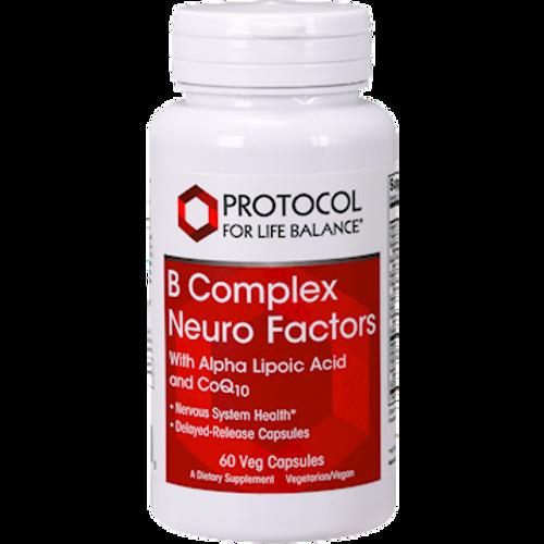 B Complex Neuro Factors 60 vegcaps (P0406) (P4LB-P0406) (