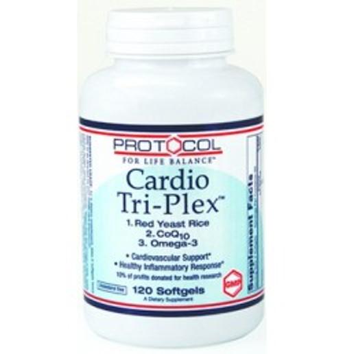 Cardio Tri-Plex 120 Softgels (P1675)