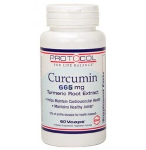 Curcumin 665 mg 60 Capsules (P4638)