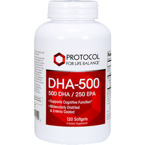 DHA-500 120 Softgels (P1612)