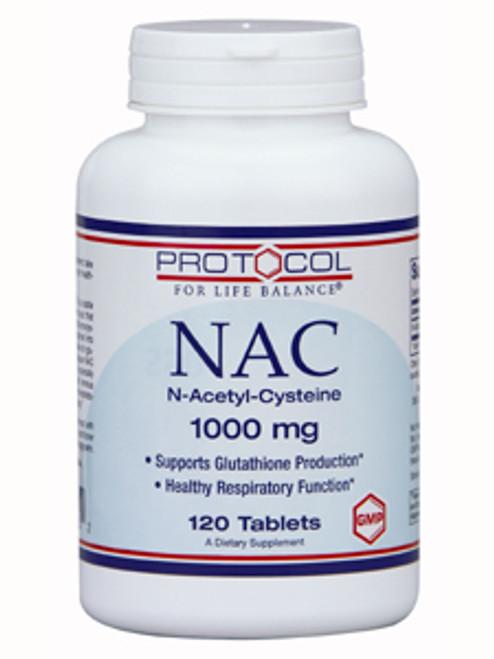 NAC 1,000mg 120 tabs (P0185)