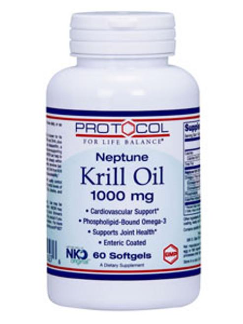 Neptune Krill Oil 1000 mg 60 softgels (P1627)