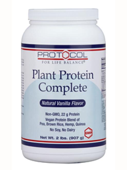 Plant Protein Complete Vanilla 2 lb (P2129)