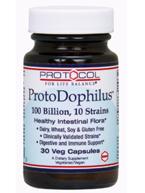 ProtoDophilus 10 100 Billion 30 veg caps (P2931)