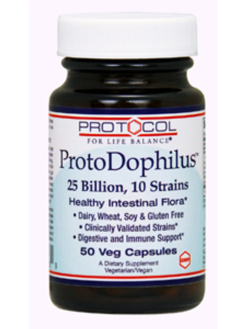 ProtoDophilus 10 25 Billion 50 vegcaps (P2926)