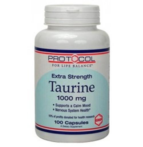 Taurine Extra Strength 1,000 mg 100 Capsules (P0142)