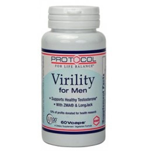Virility for Men 60 Capsules (P2168)
