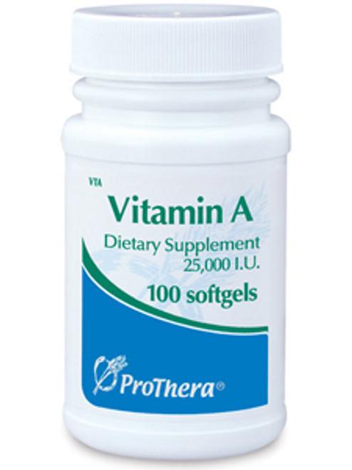 Vitamin A 25000 IU 100 gels (VTA)