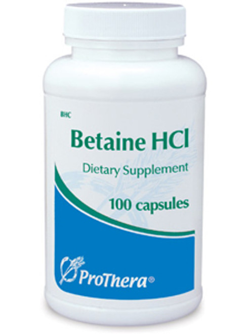 Betaine HCl 100 caps (BHC)