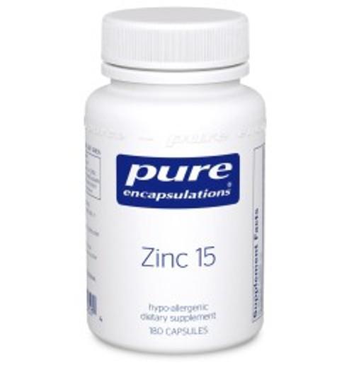 Zinc 15 180 Capsules (Z11)
