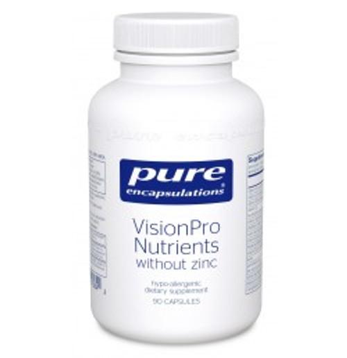 VisionPro Nutrients (without zinc) 90 Capsules (VPN29)