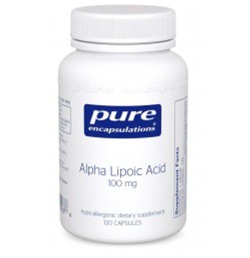 Alpha Lipoic Acid 100 mg 120 Capsules (AL11)