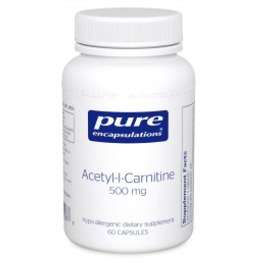 Acetyl-l-Carnitine 500 mg 60 Capsules (ALC56)