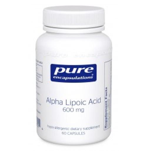Alpha Lipoic Acid 600 mg 60 Capsules (AL66)