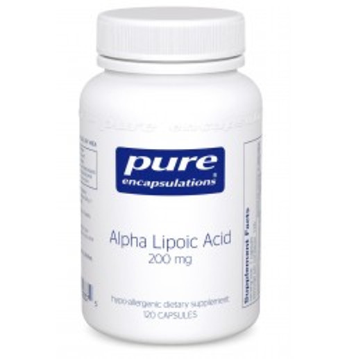 Alpha Lipoic Acid 200 mg 120 Capsules (AL21)