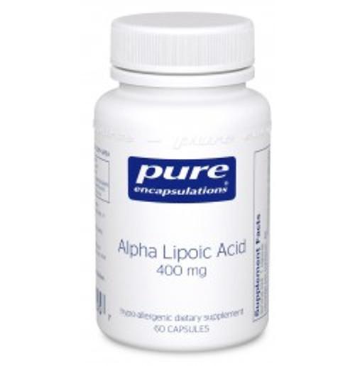 Alpha Lipoic Acid 400 mg 60 Capsules (AL46)