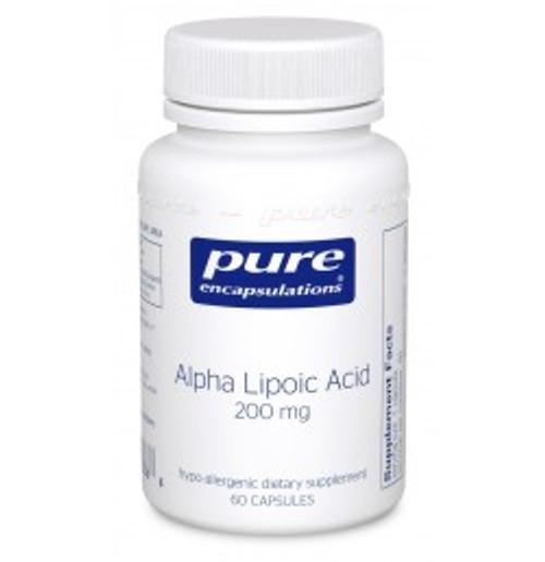 Alpha Lipoic Acid 200 mg 60 Capsules (AL26)