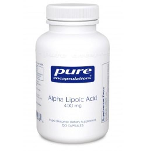 Alpha Lipoic Acid 400 mg 120 Capsules (AL41)