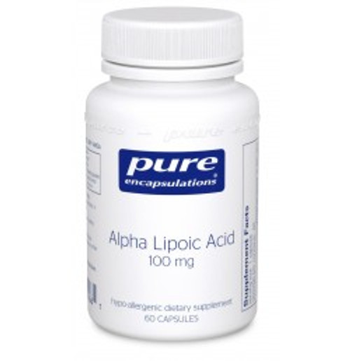 Alpha Lipoic Acid 100 mg 60 Capsules (AL16)