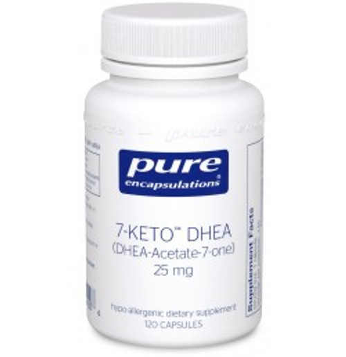 7-KETO DHEA 25 mg 120 Capsules (KD21)