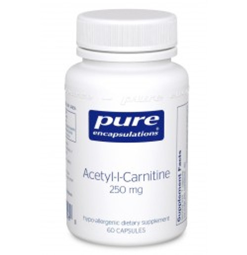 Acetyl-l-Carnitine 250 mg 60 Capsules (ALC26)