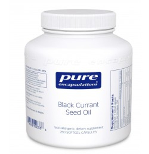 Black Currant Seed Oil 250 Softgels (BL2)
