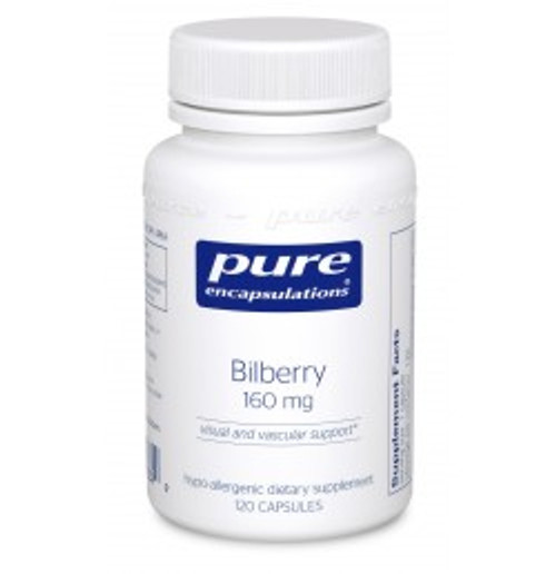Bilberry 160 mg 120 Capsules (BB11)