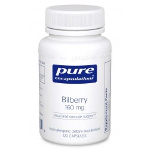 Bilberry 160 mg 120 Capsules (BB11)