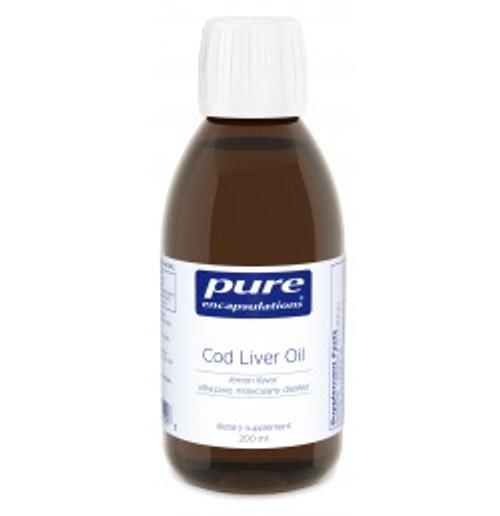 Cod Liver Oil (lemon flavor) 200 ml Liquid (CLO2)