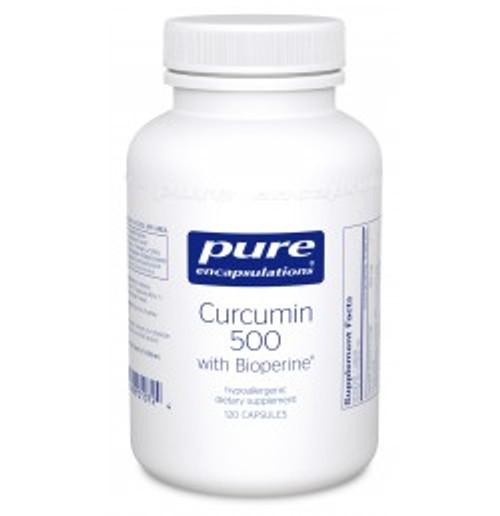 Curcumin 500 with Bioperine 120 Capsules (CUB51)