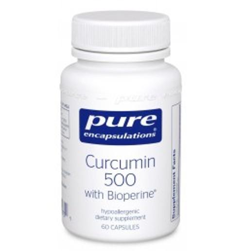 Curcumin 500 with Bioperine 60 Capsules (CUB56)