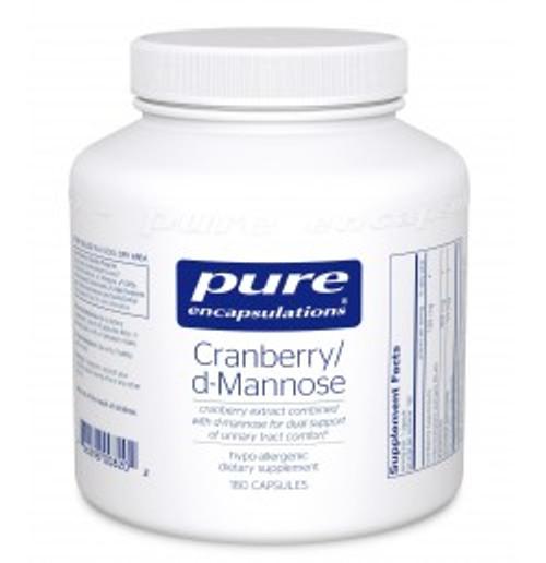 Cranberry/d-Mannose 180 Capsules (CRD1)