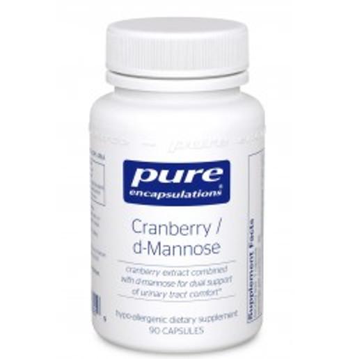 Cranberry/d-Mannose 90 Capsules (CRD9)