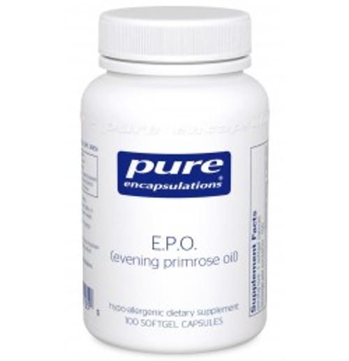 E.P.O. (evening primrose oil) 100 Softgels (EPO1)