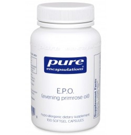 E.P.O. (evening primrose oil) 100 Softgels (EPO1)