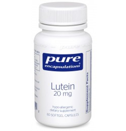 Lutein 20 mg 60 Softgels (LU6)