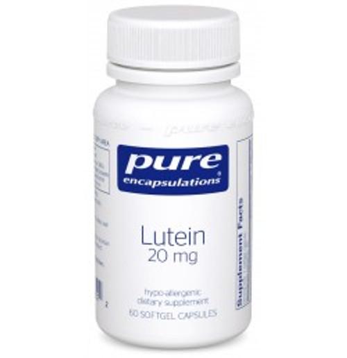 Lutein 20 mg 60 Softgels (LU6)